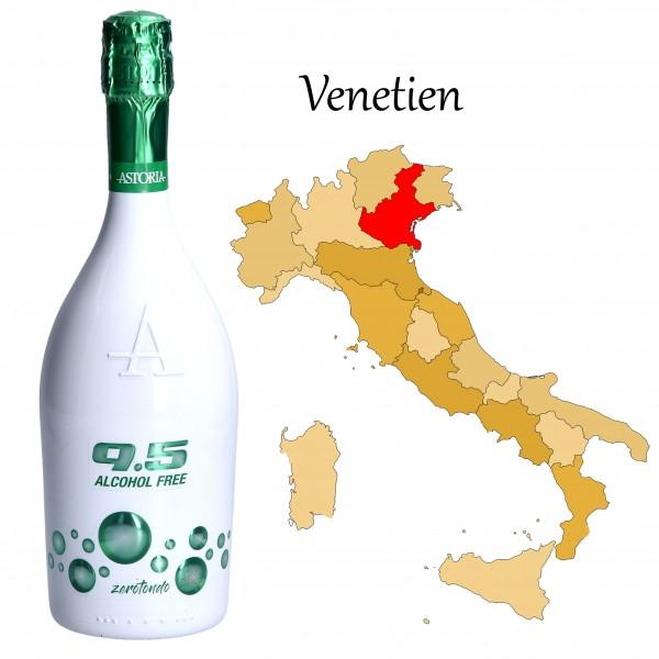 9.5 Cold Wine Succo d`Uva Spumante alkoholfrei, Astoria