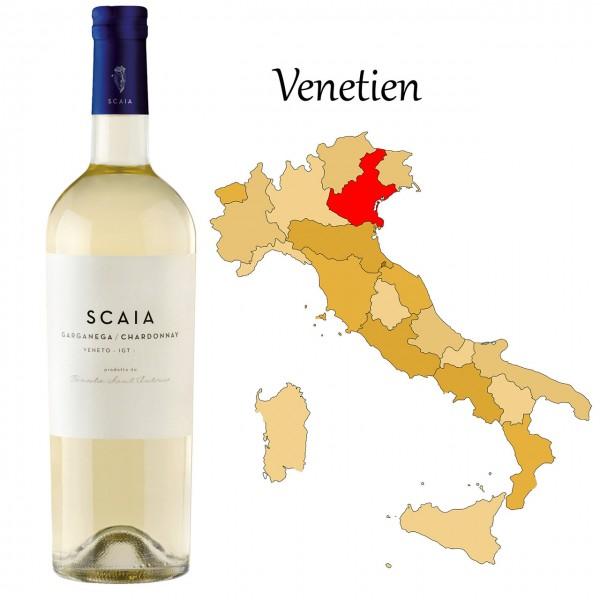 Scaia Bianca- Garganega Chardonnay IGT Trevenezie, Tenuta Santantonio