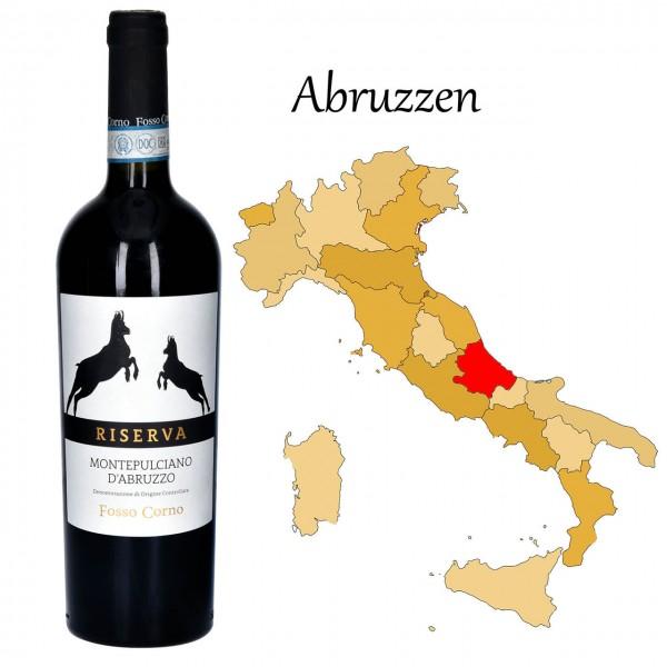Montepulciano d'Abruzzo Riserva DOC, Fosso Corno