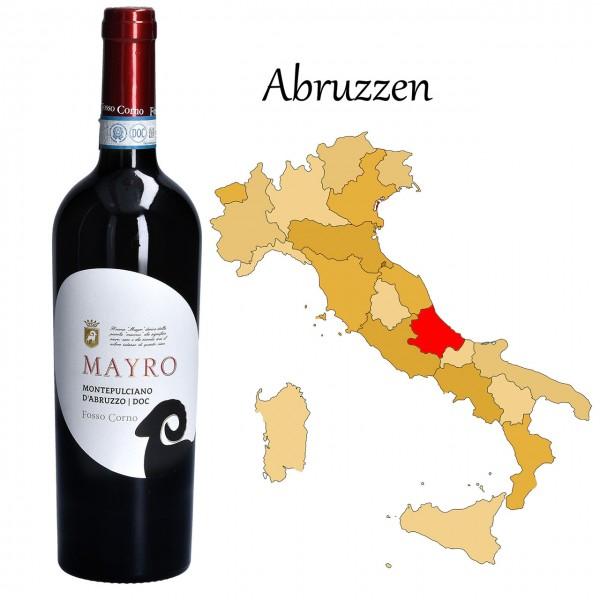 Mayro Montepulciano d Abruzzo DOC, Fosso Corno