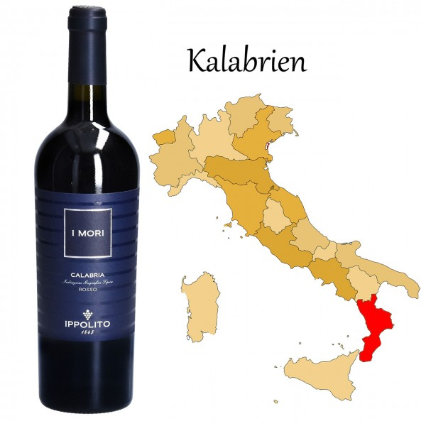 I Mori Calabria Rosso IGT