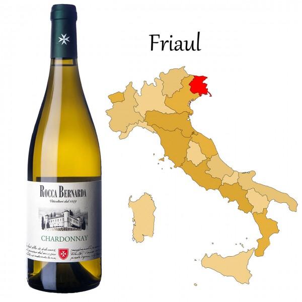 Chardonnay Colli Orientali del Friuli DOC, Rocca Bernarda