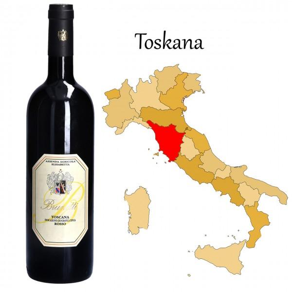 Rosso Brunetti Toscana IGT, Brunetti
