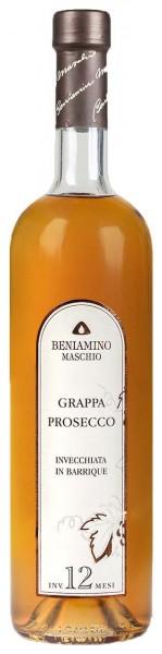 Grappa Prosecco, Invecchiata in Barrique, Beniamino Maschio