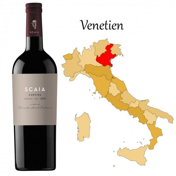 Scaia Rossa- Rosso del Veneto IGT, Tenuta Santantonio