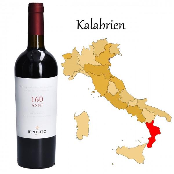 160 ANNI Rosso Calabria IGT, Ippolito