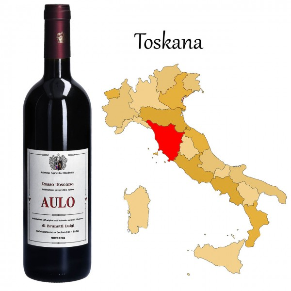 AULO Rosso Toscana IGT, Brunetti